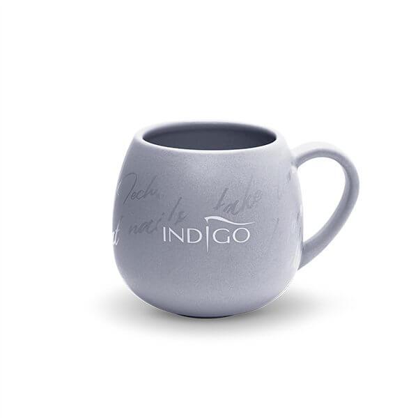Indigo Grey Ceramic Mug